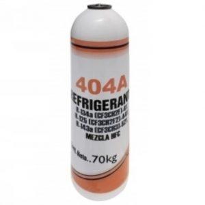 Imagen 10.- Gas Refrigerante R404a 0.45 Kg Erka