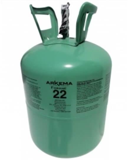 Imagen 9.- Gas Refrigerante R22 Boya 13.6 Kg Forane