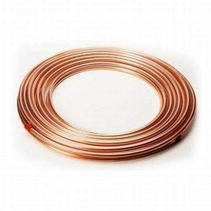 Partes y Accesorios para HVAC/R: Tubería de Cobre Flexible