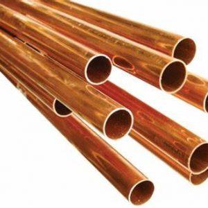 Partes y Accesorios para HVAC/R: Tubería de Cobre Tipo L Rigida